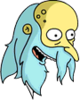 Reclusive Mr. Burns Happy Icon