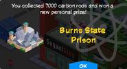 Burns State Prison Unlock Screen