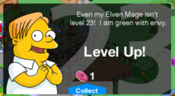 Level 23 Message