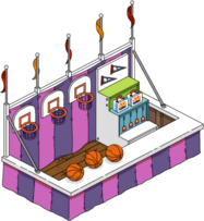 Tapped Out Basketball Game