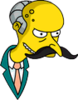 Mr. Burns Mr. Snrub Icon