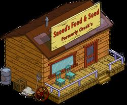 Sneed's Feed & Seed Menu