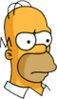 Homer Future Serious Icon