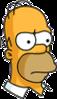 Homer Future Serious Icon