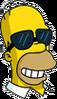 Homer Sunglasses Happy Icon