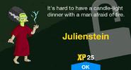 Julienstein Unlock Screen