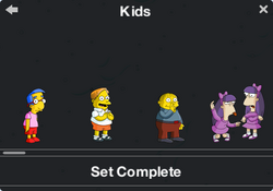 Kids Character Collection 1