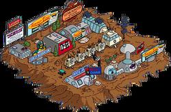 Mars Colony Menu