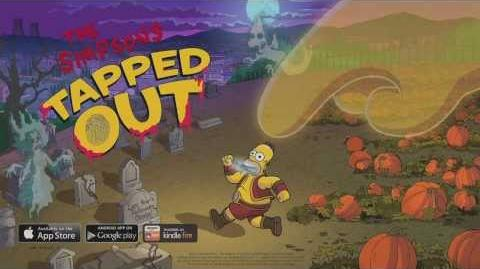 The Simpsons Tapped Out - Treehouse of Horror Update 2013 Trailer