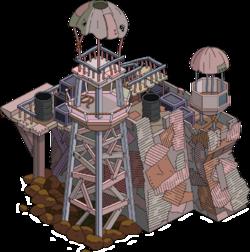 Aqua World Main Guard Tower Menu