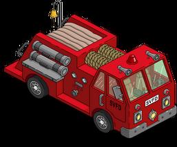 Fire Truck Menu