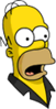 Pin Pal Homer Surprised Icon