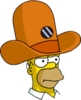 Camera Hat Homer Annoyed Icon