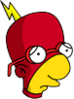 Radioactive Milhouse Sad Icon