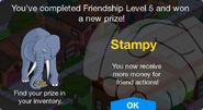 Friendship Level 5 Stampy