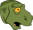 Petroleus Rex Surprised Icon