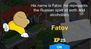 Fatov Unlock Screen