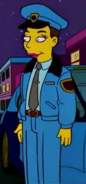 Gloria as Officer in the show