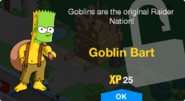 Goblin Bart Unlock Screen