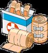 Large Band-Aid Box Menu