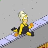 Pride Homer Working the Heels (2)