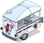 Tapped Out Devil Donuts Cart