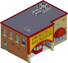 Tapped out Springfield wax museum