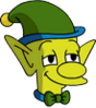 Happy Little Elf Leopold Icon