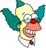 Krusty the Christian Happy Icon
