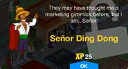 Señor Ding Dong Unlock Screen