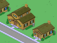 Original Brown House with a Brown House animated