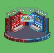 Conflict of Enemies Indoor Stage animation
