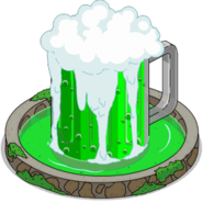 Green Beer Fountain