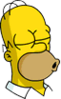 Homer Kissing Icon