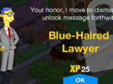Blue-Haired Lawyer