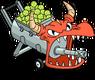 Dragon Tennis Ball Shooter Menu