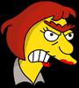 Groundskeeper Wilma Annoyed Icon