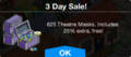 3days Theater Masks Sale.png