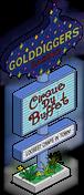 Golddiggers Sign Menu