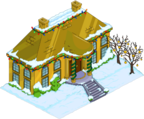 Christmas Mansion of Solid Gold Snow Menu