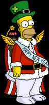 Holiday Homer Menu