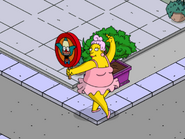 Tina Ballerina Promoting Krusty