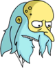 Reclusive Mr. Burns Sad Icon