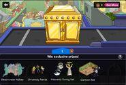 Gold Mystery Box Screen