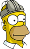 Homer Codpieceonhead Icon