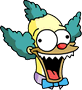 Talking Krusty Doll Evil Icon