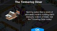 The Timberlog Diner notification