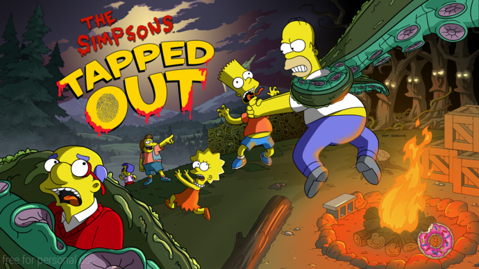 Treehouse of Horror XXVI Event Splash Screen