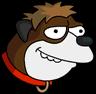 Barney Dog Icon