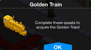 Complete to get Golden Train